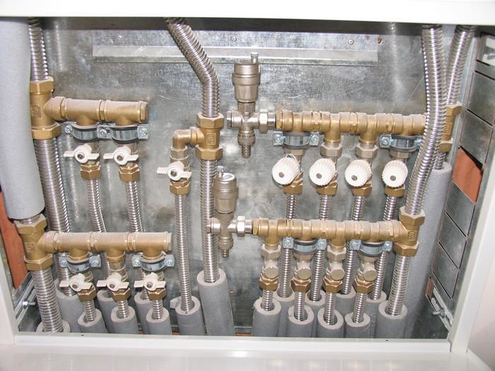 Использование гофротруб KOFULSO для подключения газового оборудования