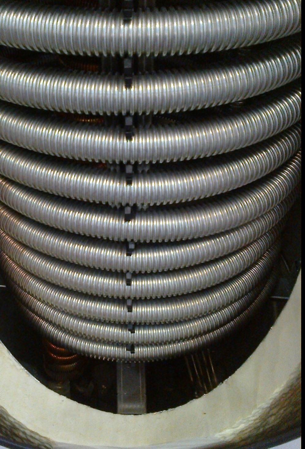 Теплообменники из гофрированной трубы из нержавеющей стали Кожухотрубный испаритель Alfa Laval DM2-328-2 Дербент